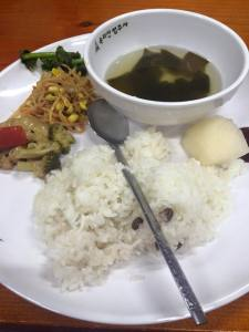 Beopjusa Vegetarian Food