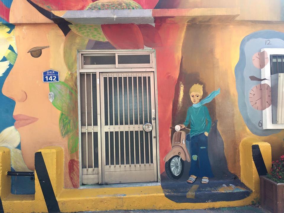 Gamcheon Boy Mural