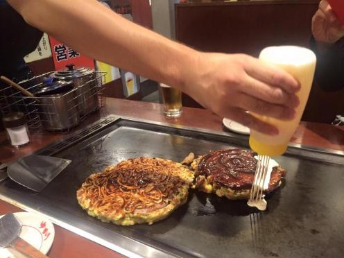 Okinomiyaki 1